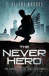 Book Cover Sample The Never Hero