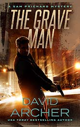 Book Cover Design Sample Thegraveman ebook 2