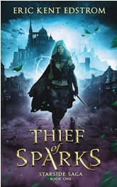 Book Cover Design Sample Thief of Sparks v5