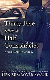 Book Cover Sample Thirty Five And A Half Conspiracies