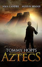 Tommy Hopps and the Aztecs A4 LR Book Cover