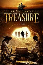Treasure A Novel Book Cover Design Sample