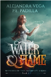 Book Cover Design Sample Water & Flame 06