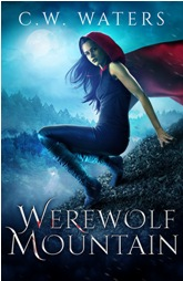 Book Cover Design Werewolf Mountain