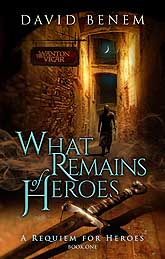 Book Cover Design Sample What Remains of Heroes 1