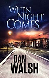 Book Cover Design Sample When Night ComesEbook