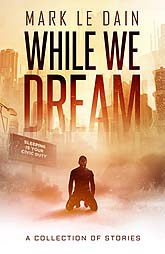 While We Dream   b4 1 Book Cover Design