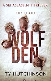 Book Cover Design Sample Wolf DenD6