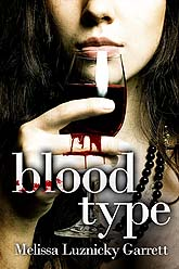 bloodtype5 Book Cover Design