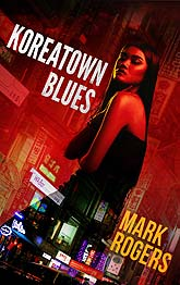 koreatown blues 3B Book Cover Design Sample