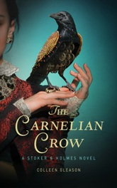 Book Cover Sample the carnelian crow 5