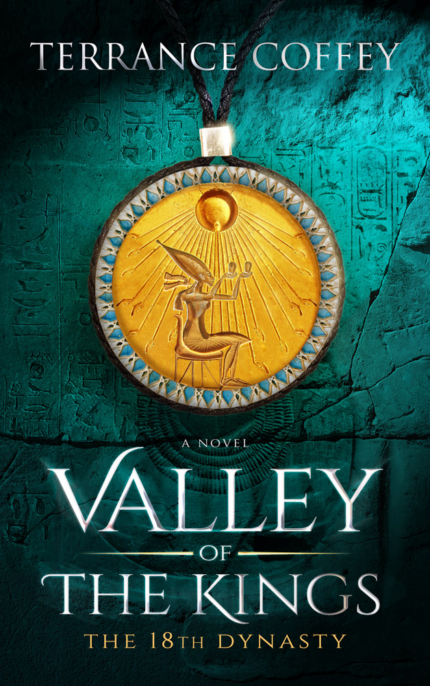 Book Cover Design valley of the king 1c