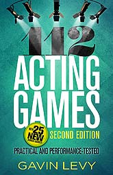 Cover Design Sample 112 Acting Games