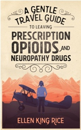 Book Cover Design Sample A Gentle Travel Guide to Leaving Prescription Opioids and Neuropathy Drugs 2