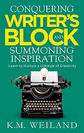 Conquering Writers Block and Summoning Inspiration 09 Sample Book Cover Design