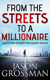 From the Streets to a Millionaire Sample Book Cover Design
