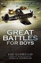 Great Battles For Boys Book Cover Design