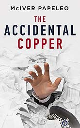 Book Cover Design Sample The Accidental Copper