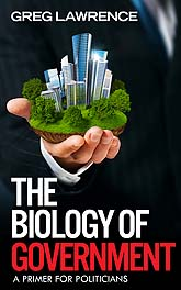 Book Cover Design Sample The Biology of Government 02